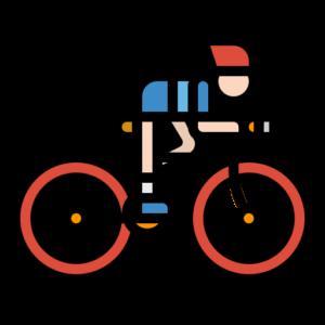 Icone d'un cycliste
